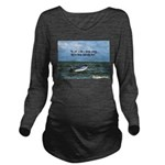 The Past Long Sleeve Maternity T-Shirt