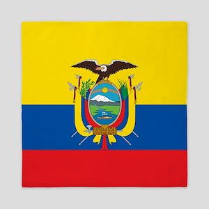 Flag of Ecuador Queen Duvet