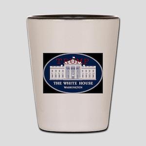 TRUMP WHITE HOUSE Shot Glass