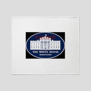 TRUMP WHITE HOUSE Throw Blanket