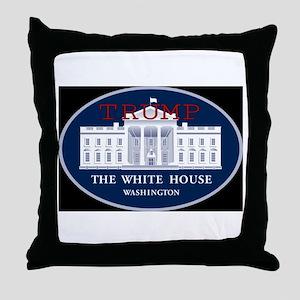 TRUMP WHITE HOUSE Throw Pillow