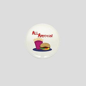 All American Mini Button