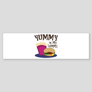 Yummy Tummy Bumper Sticker