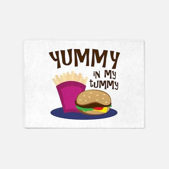 Yummy Tummy 5'x7'Area Rug