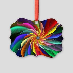 The Color Spiral Picture Ornament