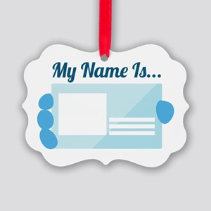 My Name Ornament