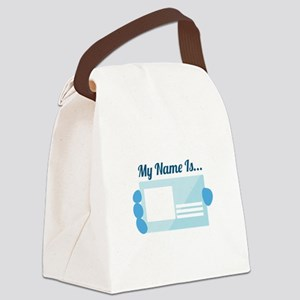 My Name Canvas Lunch Bag