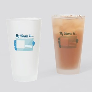 My Name Drinking Glass