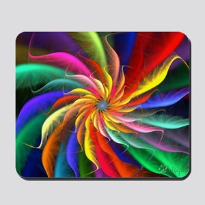The Color Spiral Mousepad