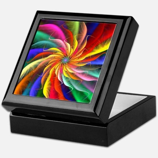 The Color Spiral Keepsake Box