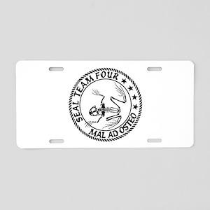 ST4 - MAO (BW) Aluminum License Plate
