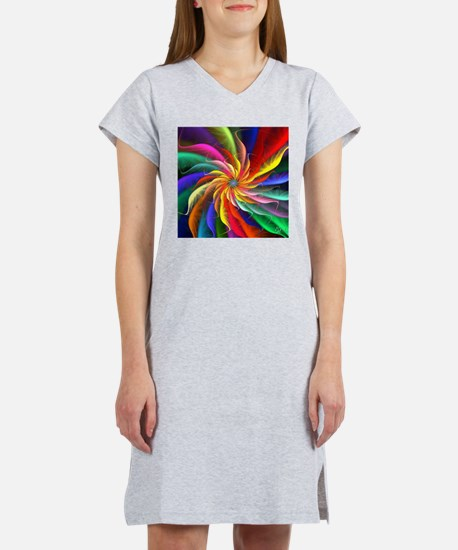 The Color Spiral Women's Nightshirt