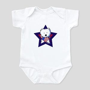 Star Speckled Westies Infant Bodysuit