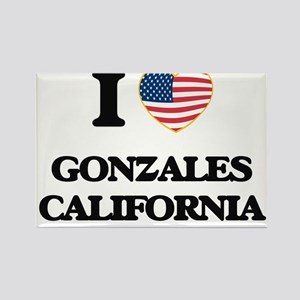 I love Gonzales California USA Design Magnets
