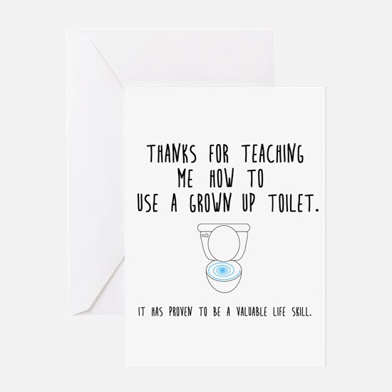 Valuable Life Skill Greeting Cards