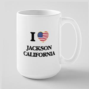 I love Jackson California USA Design Mugs