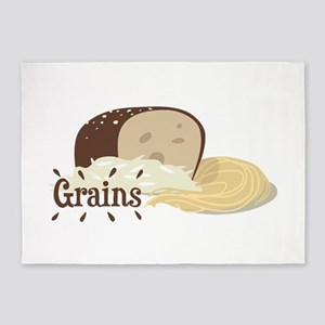 Grains 5'x7'Area Rug