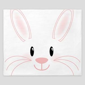 Bunny Face King Duvet