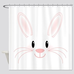Bunny Face Shower Curtain