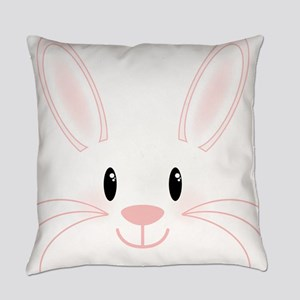 Bunny Face Everyday Pillow