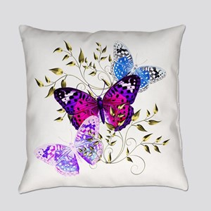Papillons Everyday Pillow