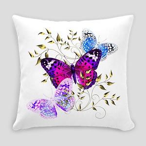 Papillons Everyday Pillow