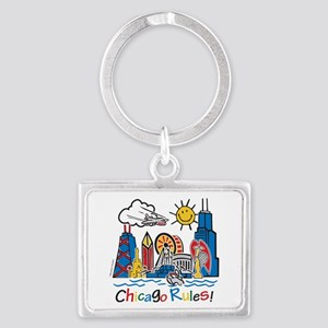Chicago Rules Keychains