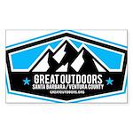 Great Outdoors SB/VC Logo Sticker