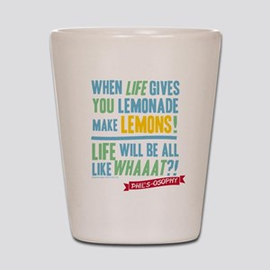 Modern Family Make Lemonades Shot Glass