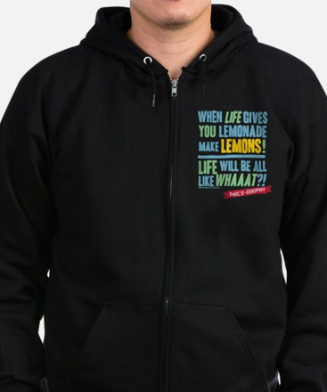 Modern Family Make Lemonades Zip Hoodie (dark)