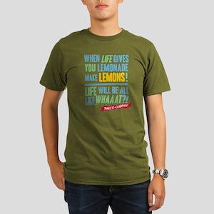 Modern Family Make Le Organic Men's T-Shirt (dark)