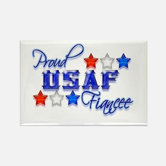 USAF Fiancee Rectangle Magnet