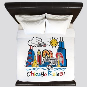 Chicago Rules King Duvet