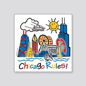 Chicago Rules Sticker