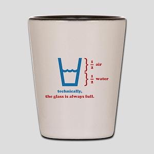 Always Full Shot Glass