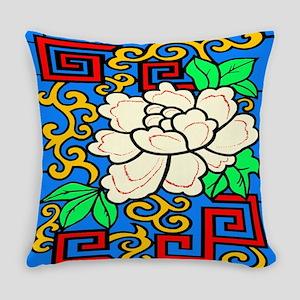 Oriental Blossom Everyday Pillow