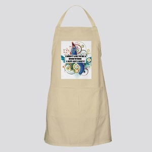 I didn't ask to be a bookworm Apron