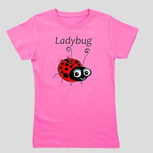 Ladybug Dancing Girl's Tee
