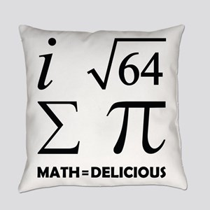 Math=Delicious Everyday Pillow
