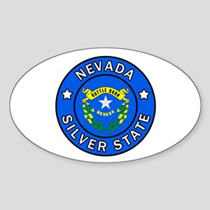 Nevada Sticker (Oval)