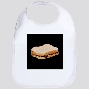 Peanut Butter and Jelly Sandwich Bib