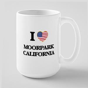 I love Moorpark California USA Design Mugs