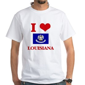 I Love Louisiana T-Shirt