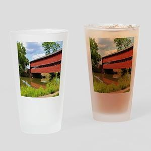 Sach's Covered Bridge Drinking Glass