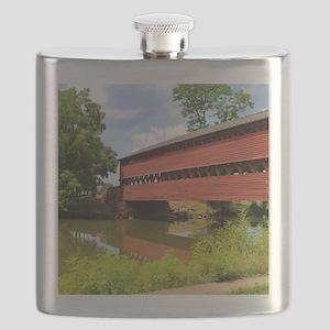Sach's Covered Bridge Flask