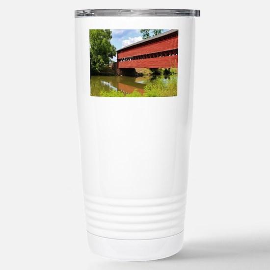 Sach's Covered Bridge Stainless Steel Travel Mug