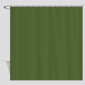 Solid Color - Treetop Shower Curtain