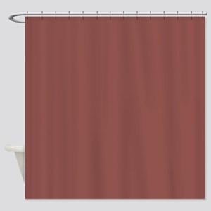 Solid Wine Color Shower Curtains
