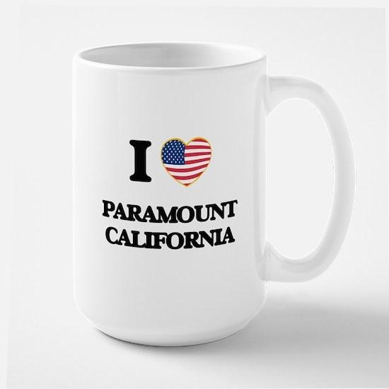 I love Paramount California USA Design Mugs