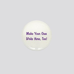 Make Your Own Cursive Saying/Meme Crea Mini Button